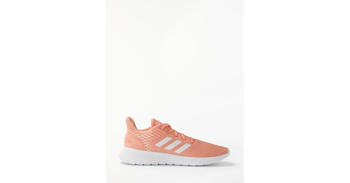 half off c3809 69e4c adidas Asweerun Womens Running Shoes in Pink - Lyst