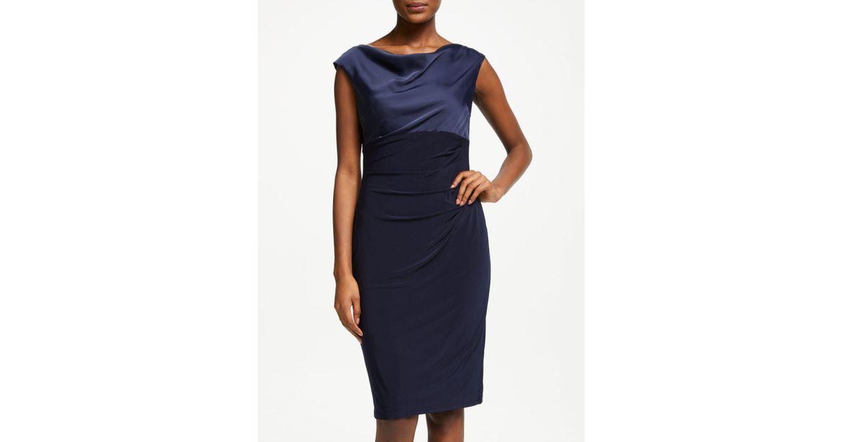 Dress Ralph Chelly Jersey In Lauren Blue Lyst qtRt7axr