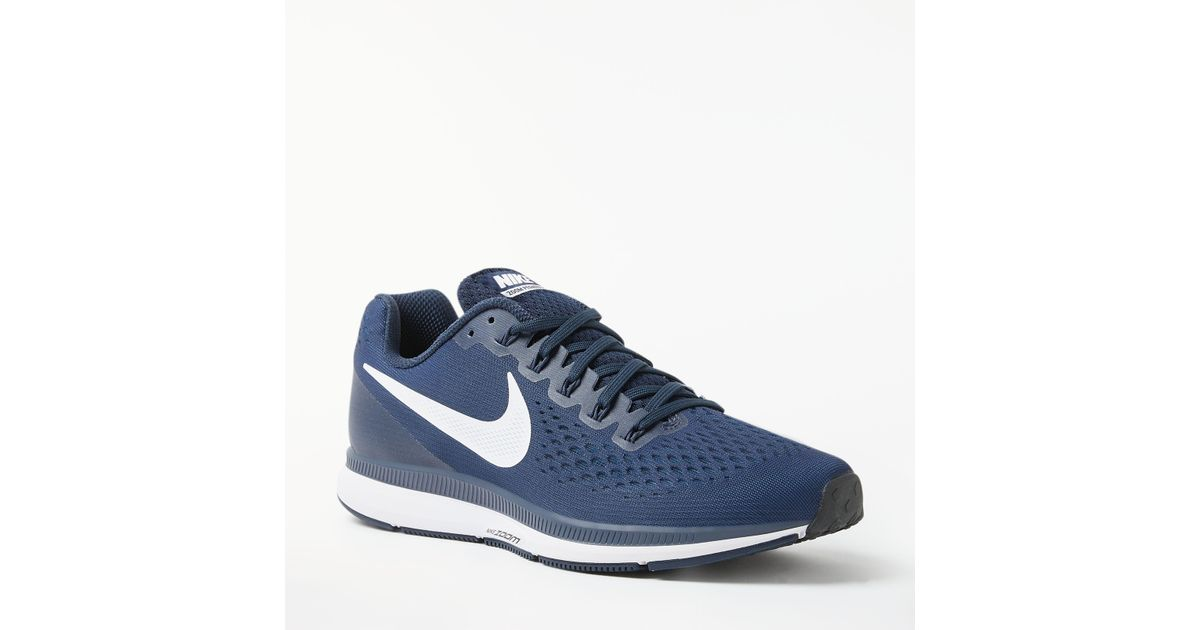 the latest 9577a f6aab John Lewis Nike Air Zoom Pegasus 34 Men s Running Shoes in Blue for Men -  Lyst