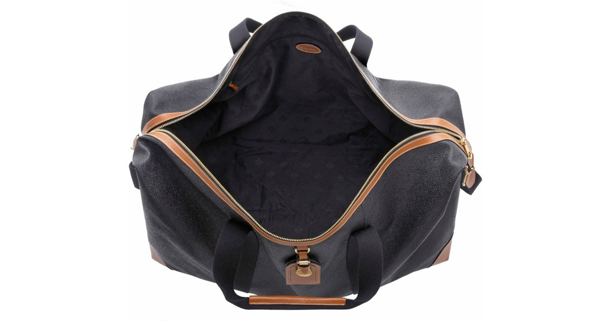... leather clipper weekend holdall bag 34a92 af46d  coupon john lewis mulberry  scotchgrain large clipper holdall in black for men lyst 0c3ab db9ac 0b4bf7166d168