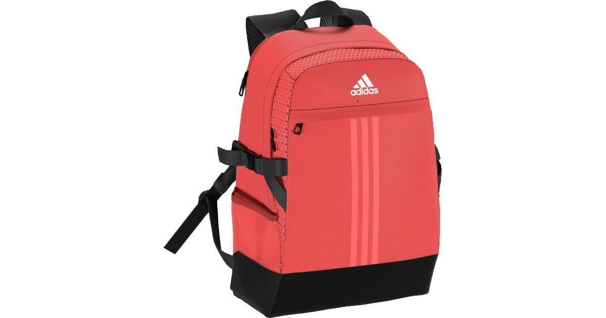 0b6316a7a7555 adidas Power Iii Medium Sports Backpack in Orange - Lyst
