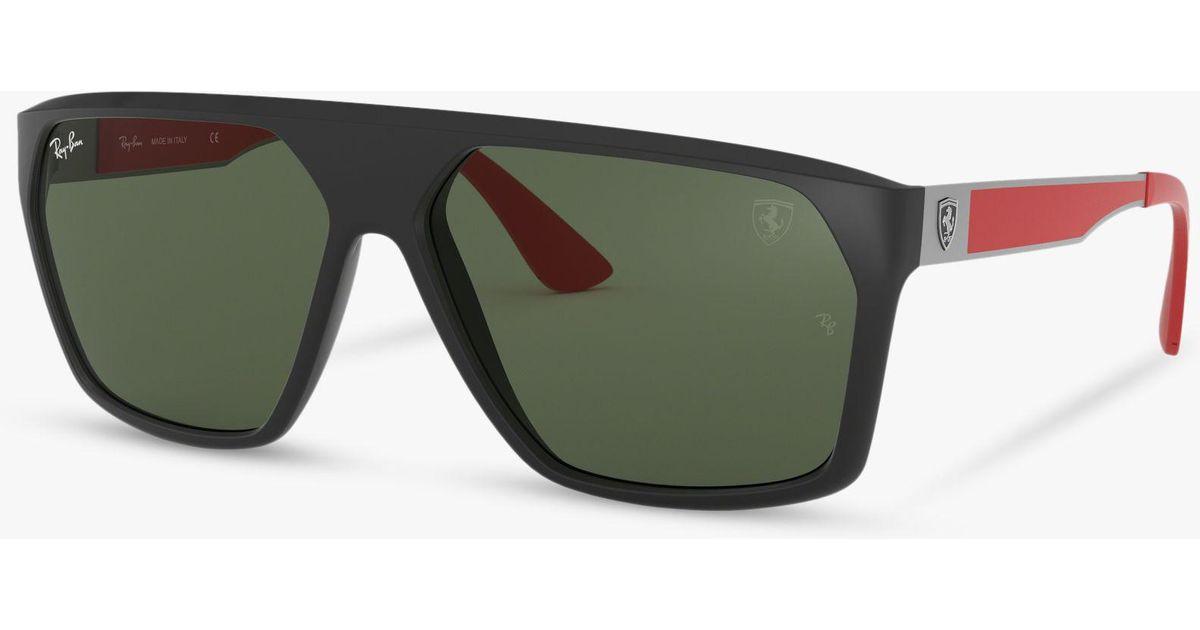 62b5840571d Ray-Ban Rb4309m Men s Scuderia Ferrari Collection Square Sunglasses for Men  - Lyst
