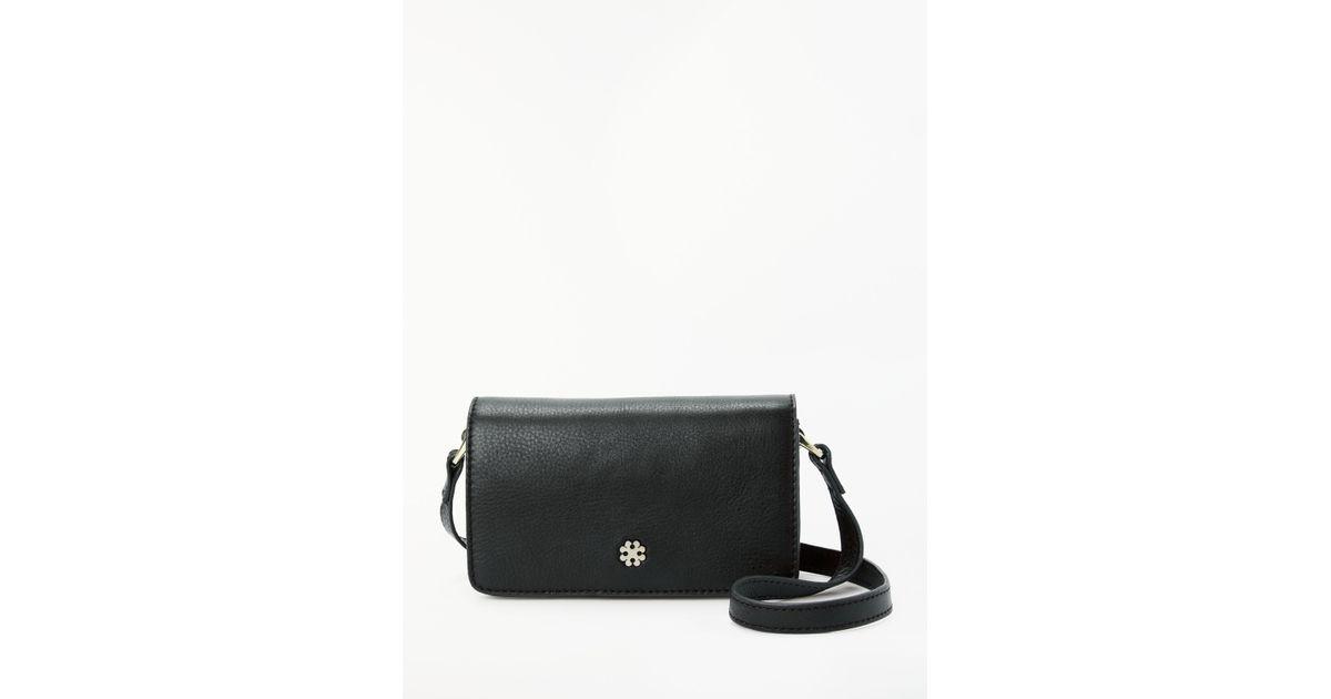 1979ed5e2d Day Birger et Mikkelsen Paris Leather Shoulder Bag in Black - Lyst
