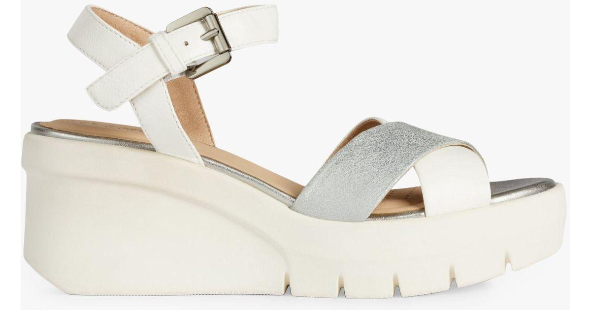 Multicolor Torrence Geox Flatform Lyst Women's Sandals F1clKTJ