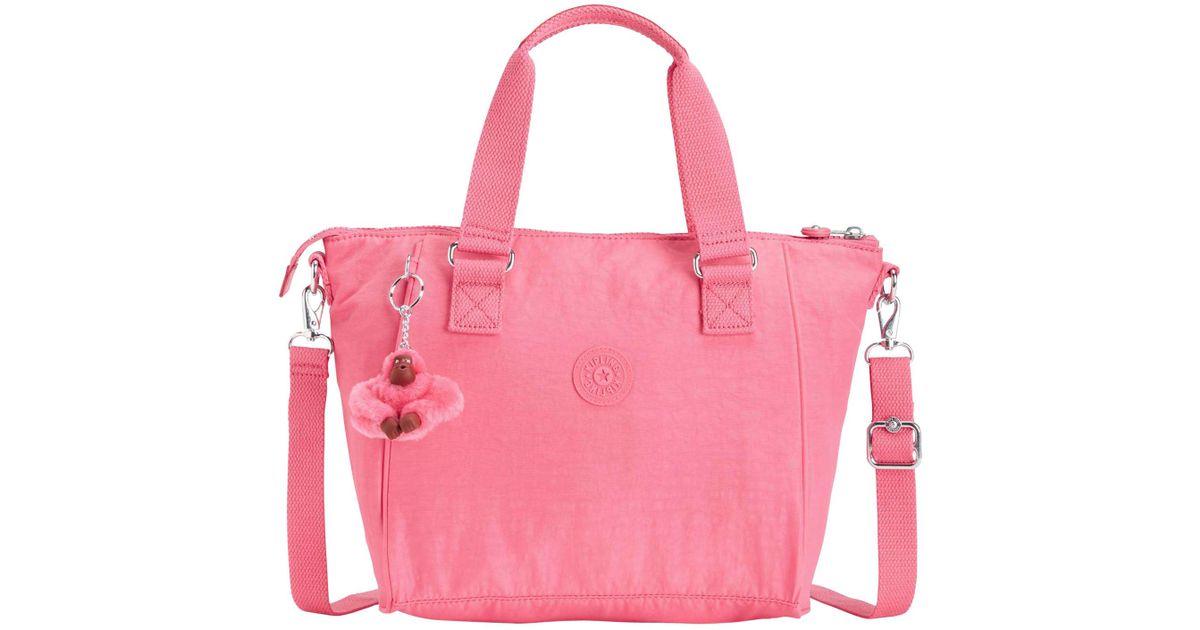 554d9d9168 Kipling Amiel Medium Handbag in Pink - Lyst