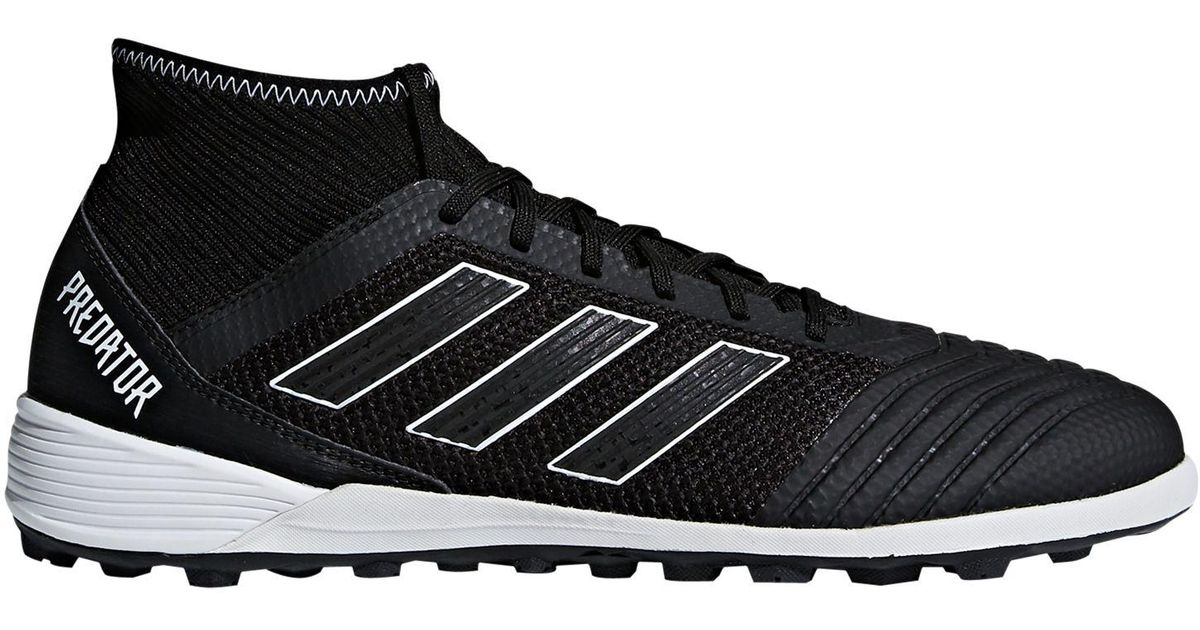 affd94bbe adidas Predator Tango 18.4 Men's Artificial Turf Football Shoes in Black  for Men - Lyst