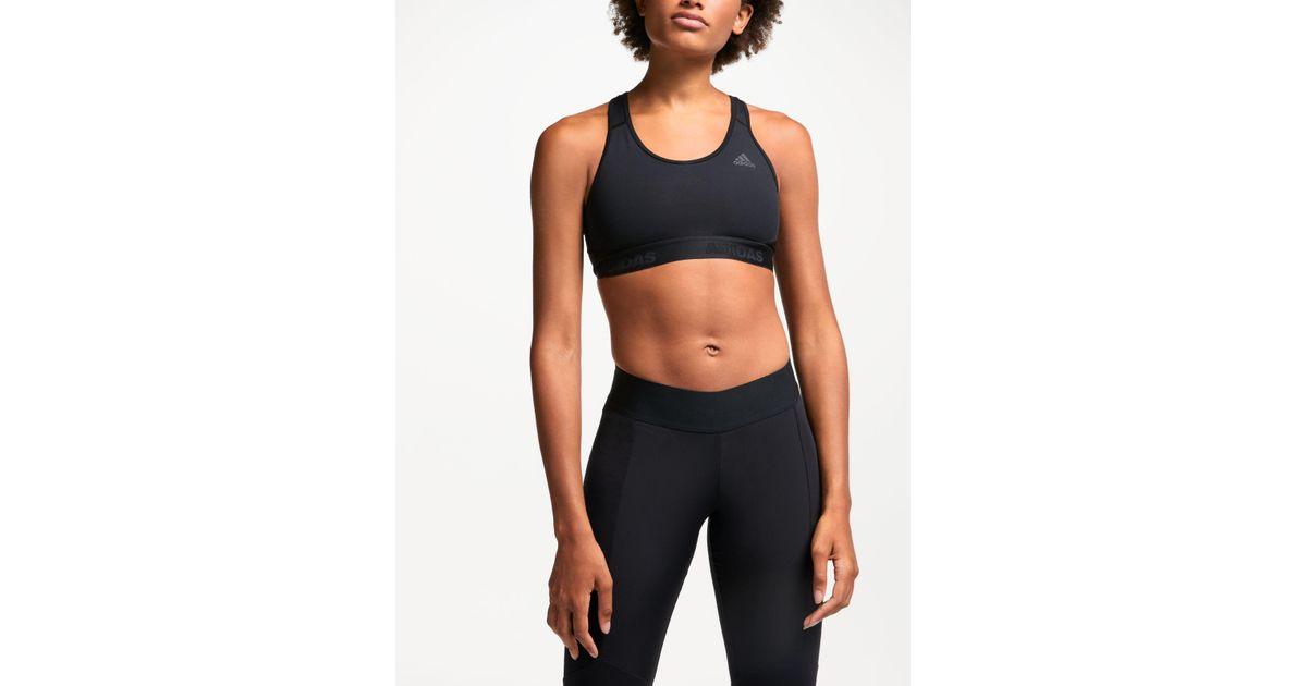 85b2ee1ef5a Adidas Black Don't Rest Alpha Skin Sports Bra