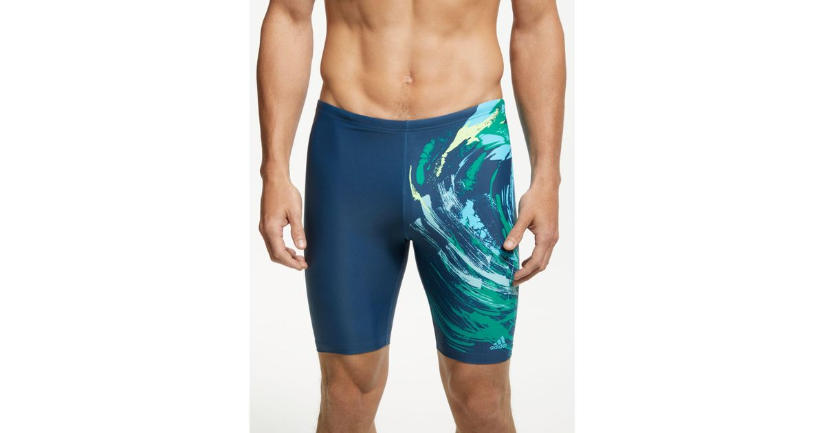 b5deae2ff8 adidas Parley Commit Jammer Swimming Shorts in Blue for Men - Lyst