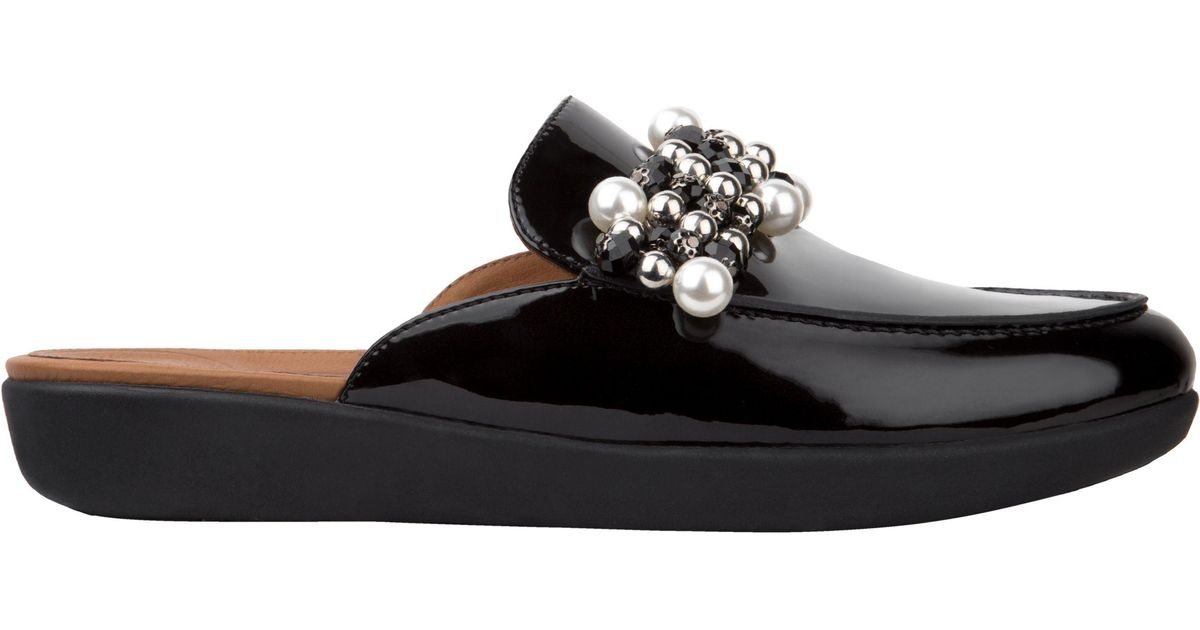 246b060224767 Fitflop Serene in Black - Save 40% - Lyst