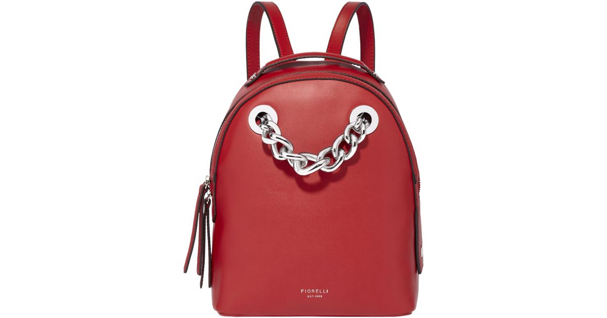 Fiorelli Anouk Small Backpack in Red - Lyst