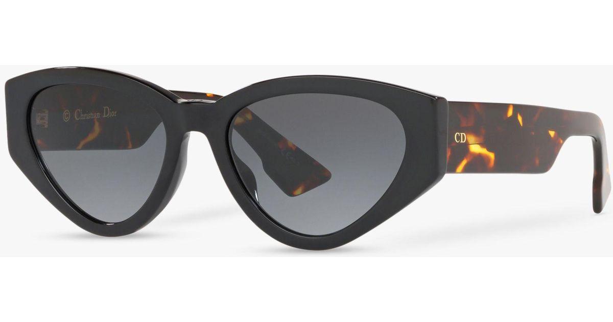 c8d1b4c037005 Dior Spirit2 Women s Cat s Eye Sunglasses in Black - Lyst