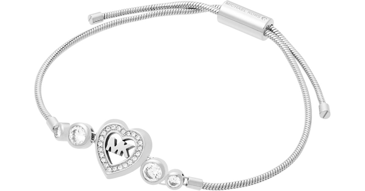 89ab79a50ad Michael Kors Love Is In The Air Bracelet in Metallic - Lyst