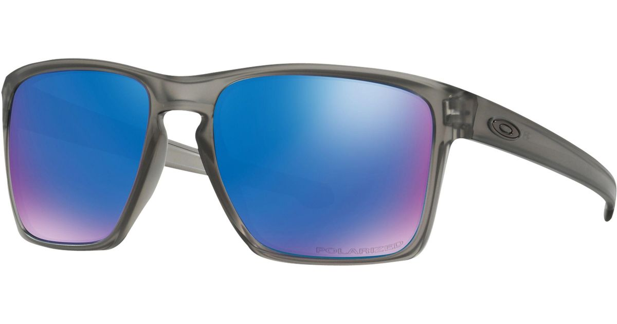 2c999c0e6a Oakley Oo9341 Sliver Xl Polarised Square Sunglasses for Men - Lyst