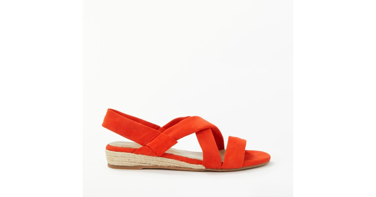 3c1a52022 Boden Ava Espadrille Sandals in Red - Lyst