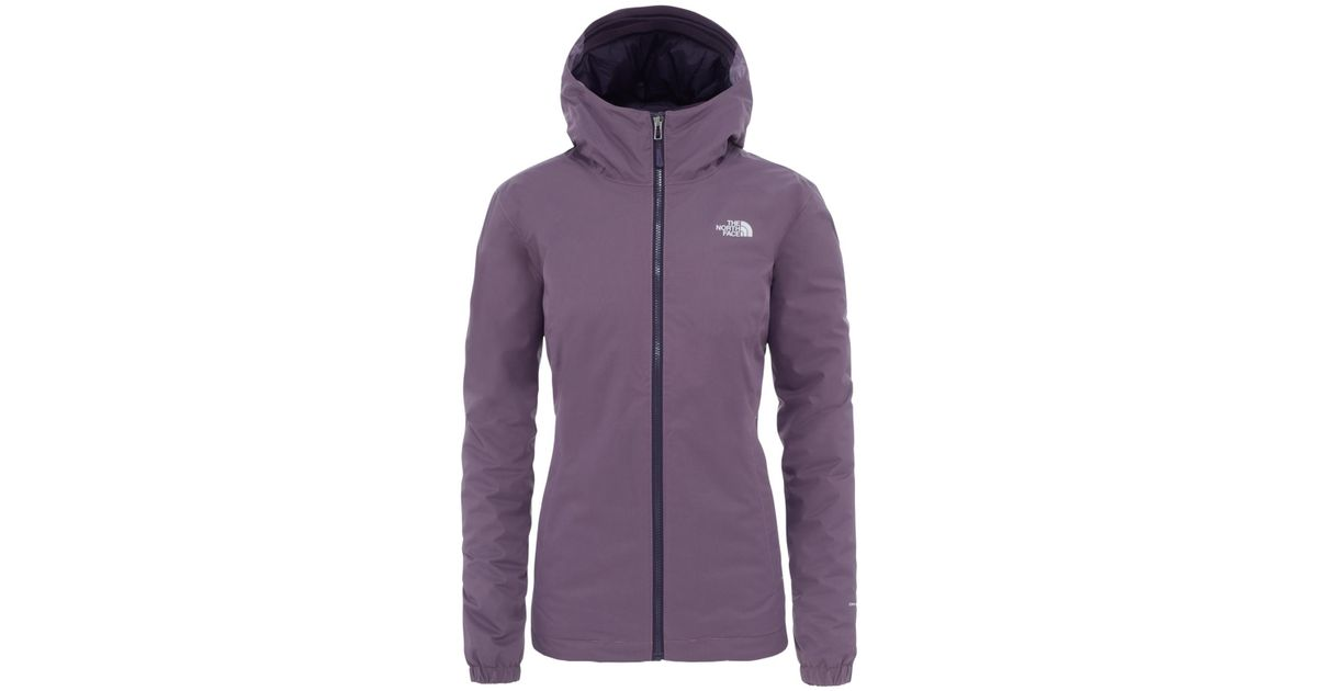 7651414f8 The North Face Quest Women's Waterproof Insulated Jacket in Black - Lyst