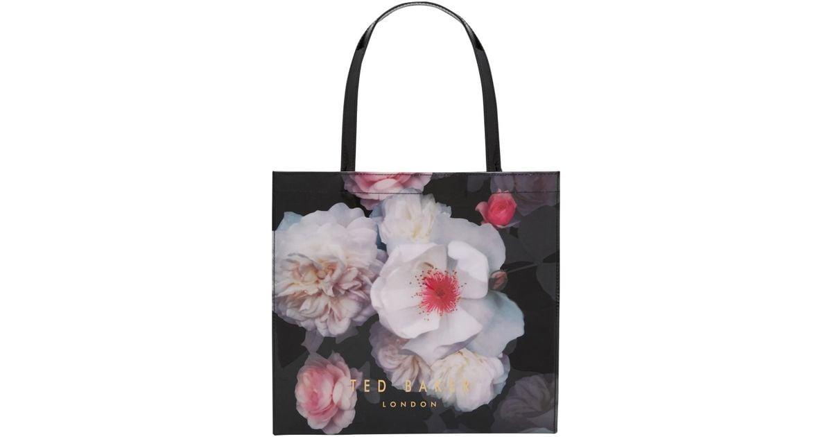 8e38f966e0284 Ted Baker - Black Taracon Chelsea Grey Large Shopper Bag - Lyst