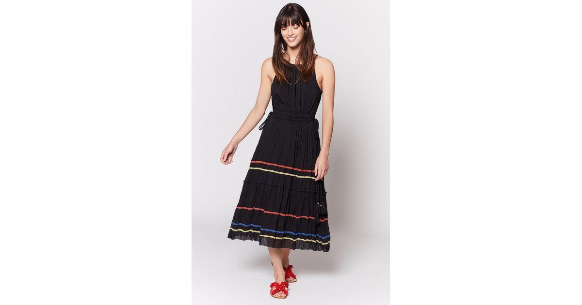 ea03e966db Lyst - Joie Danit Midi Dress in Black