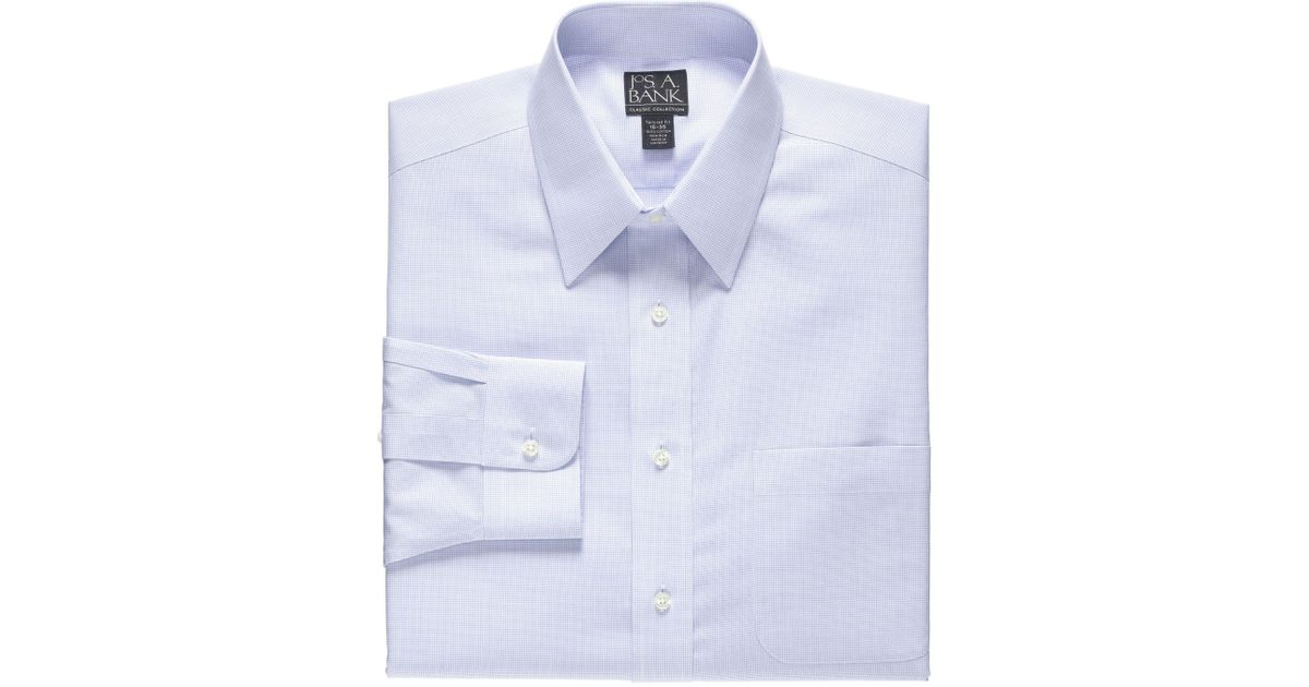Jos A Bank Classic Collection Non Iron Tailored Fit