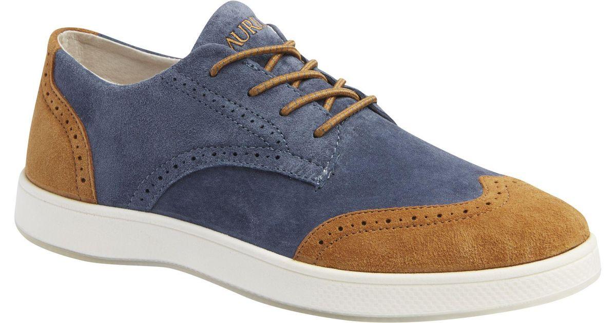 1eba40a6faac Lyst - Jos. A. Bank Aureus Supra Short Wingtip Oxford Sneakers in ...