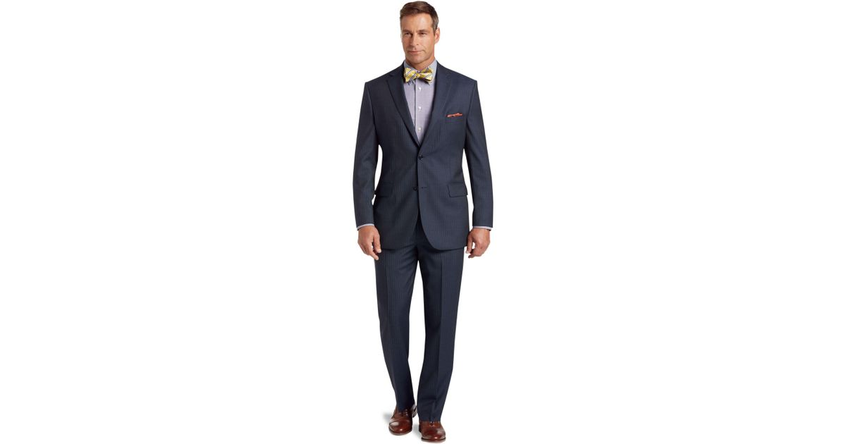 9696a261151 Lyst - Jos. A. Bank Signature Collection Tailored Fit Suit in Blue ...
