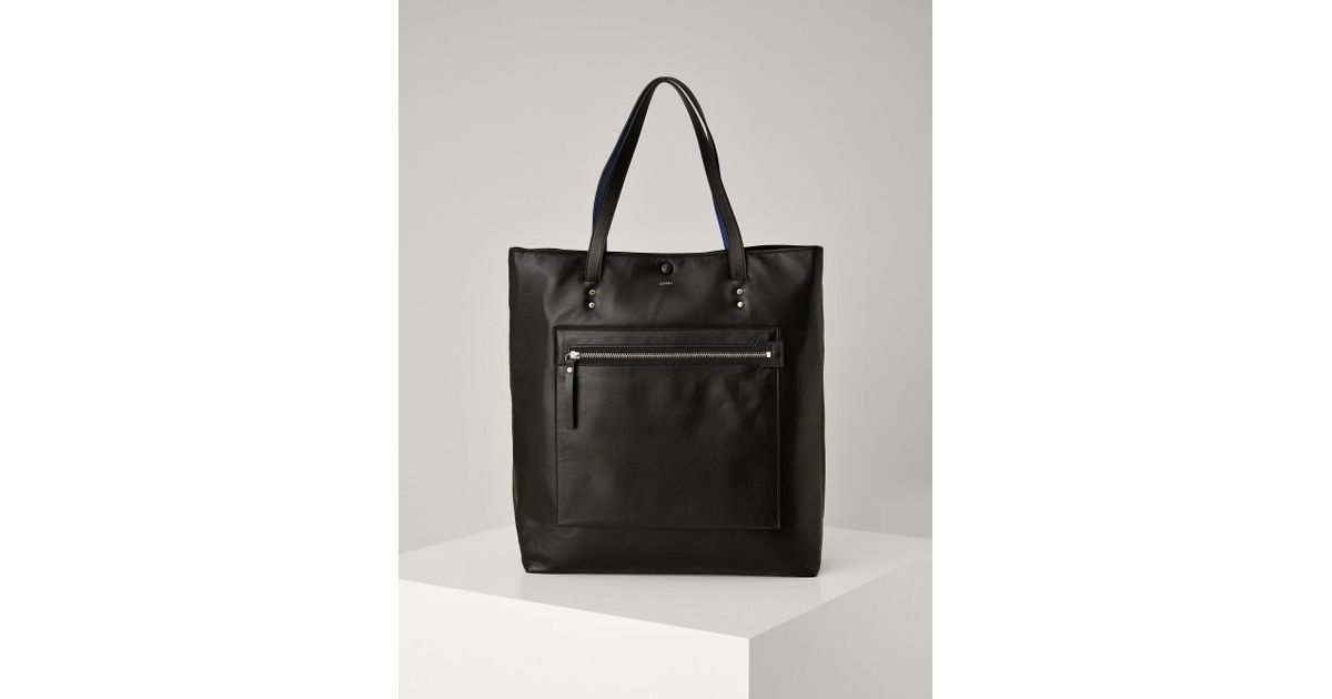 b1b9d4f6f35 Lyst - JOSEPH Nappa Leather Jacob Bag in Black