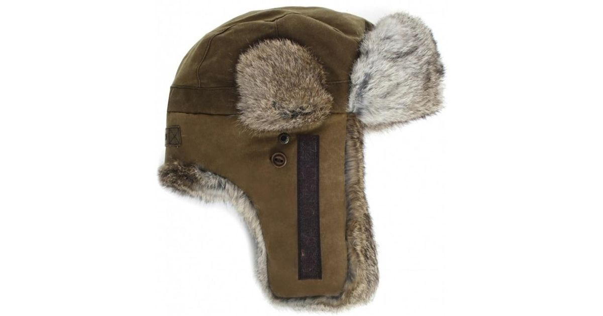 620643a4c08 Stetson Boulder Fur Trapper Hat in Green for Men - Lyst