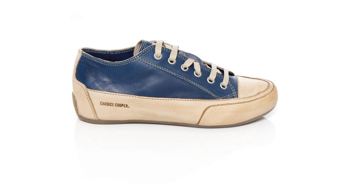 c489a157f9617 Candice Cooper - Blue Rock Tamponato Trainers - Lyst