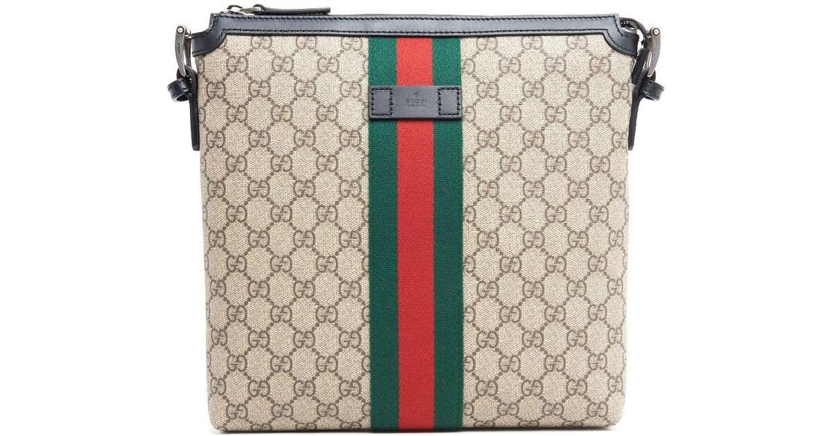 4060e32b5 Lyst - Gucci 'GG Supreme' Crossbody Bag for Men