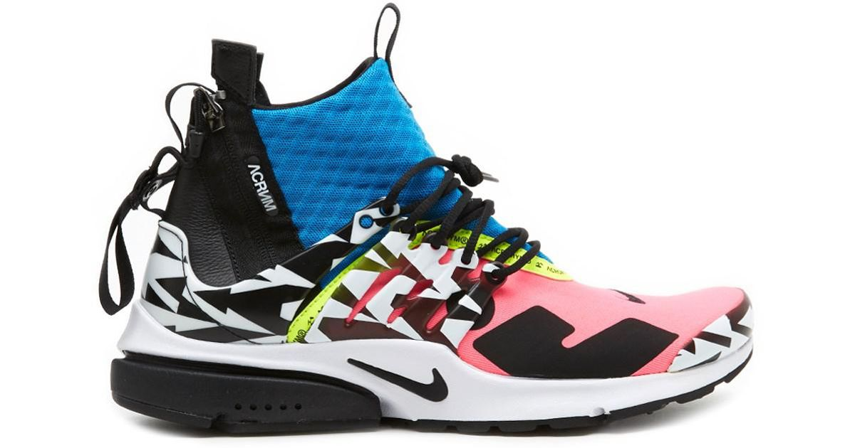 lowest price 4484d 6fcd6 Lyst - Nike air Presto Mid Sp Acronym Sneakers for Men