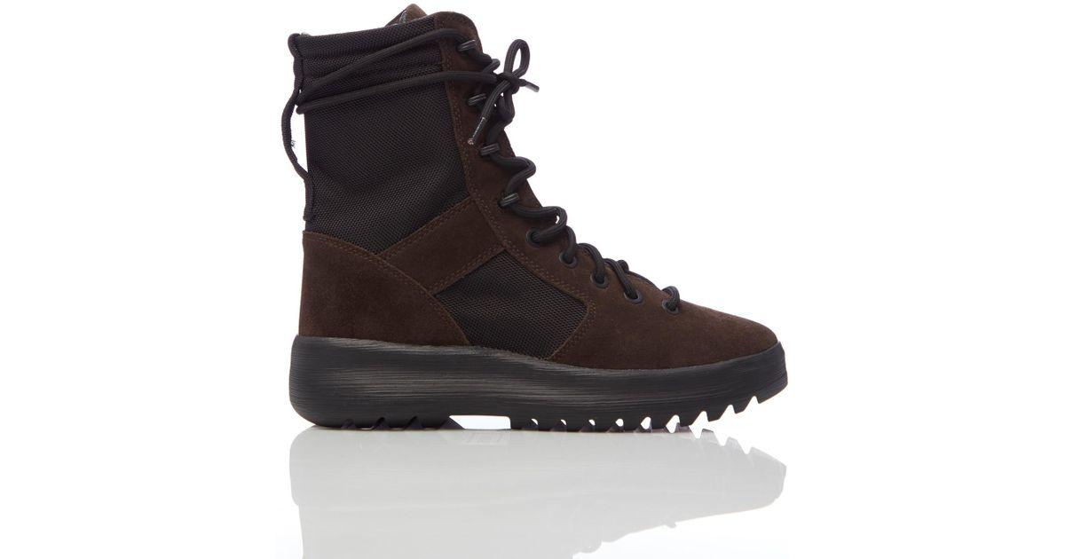 68b4f9b753950 Lyst - Yeezy Season 7 Military Boots in Black for Men