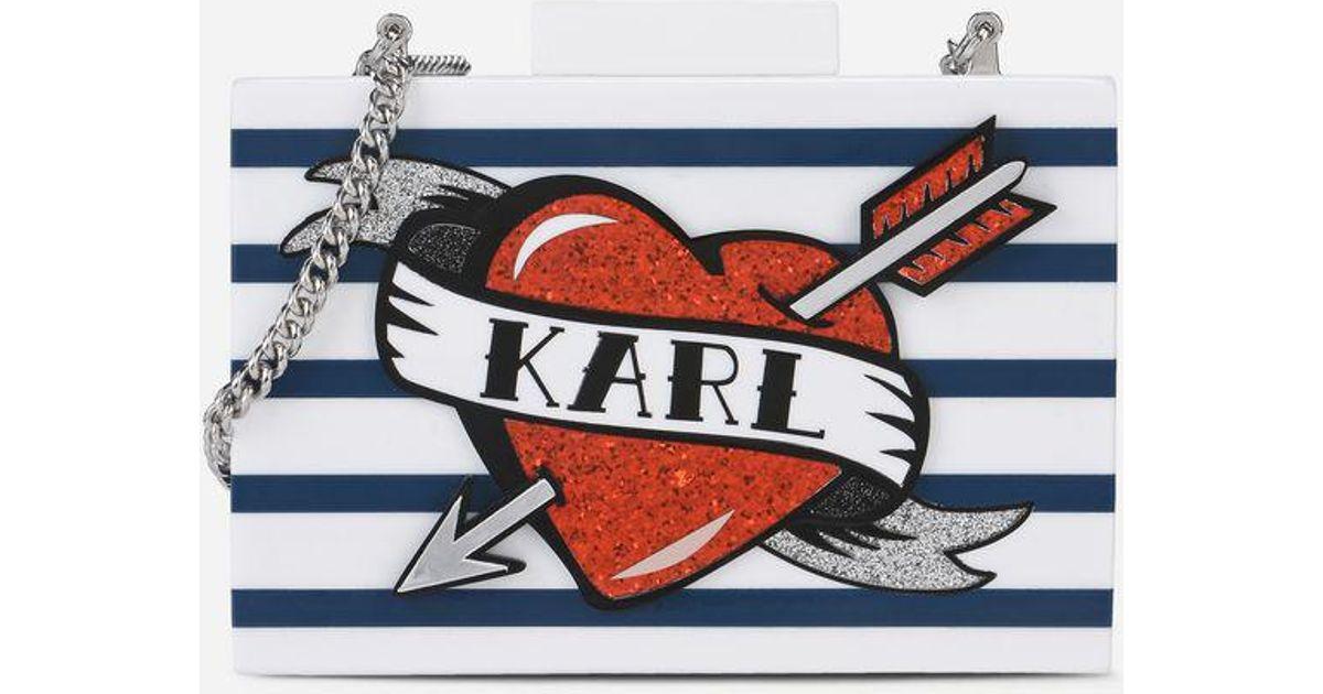 Karl Lagerfeld Minaudière Captain Karl 0wwaRj