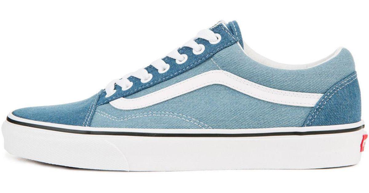 5018428955 Lyst - Vans The Men s Old Skool 2-tone in Blue for Men