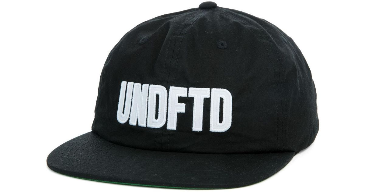 Lyst - Undefeated The Undftd Applique Strapback in Black for Men f84d7466eea1
