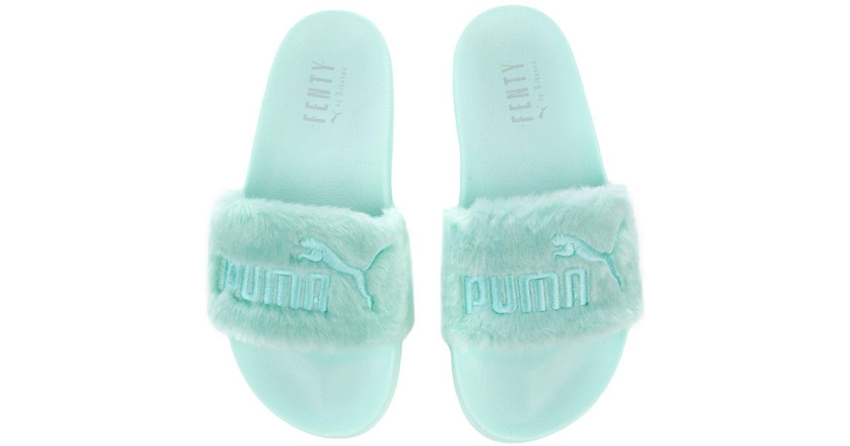 buy popular 0ed3a 92aa5 puma x fenty fur slides