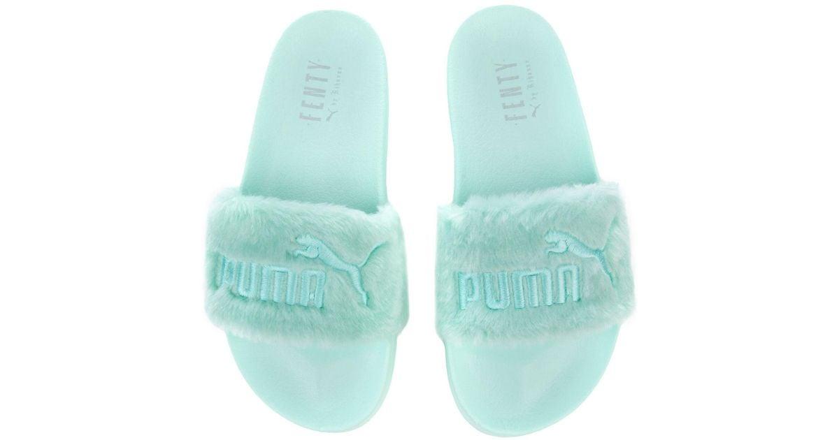 buy popular afbe2 080fb puma x fenty fur slides