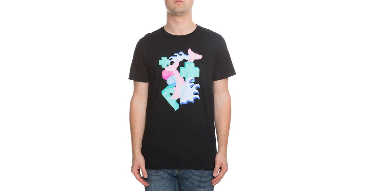 8fafc450 Lyst - Pink Dolphin The Block Pill Tee in Black for Men