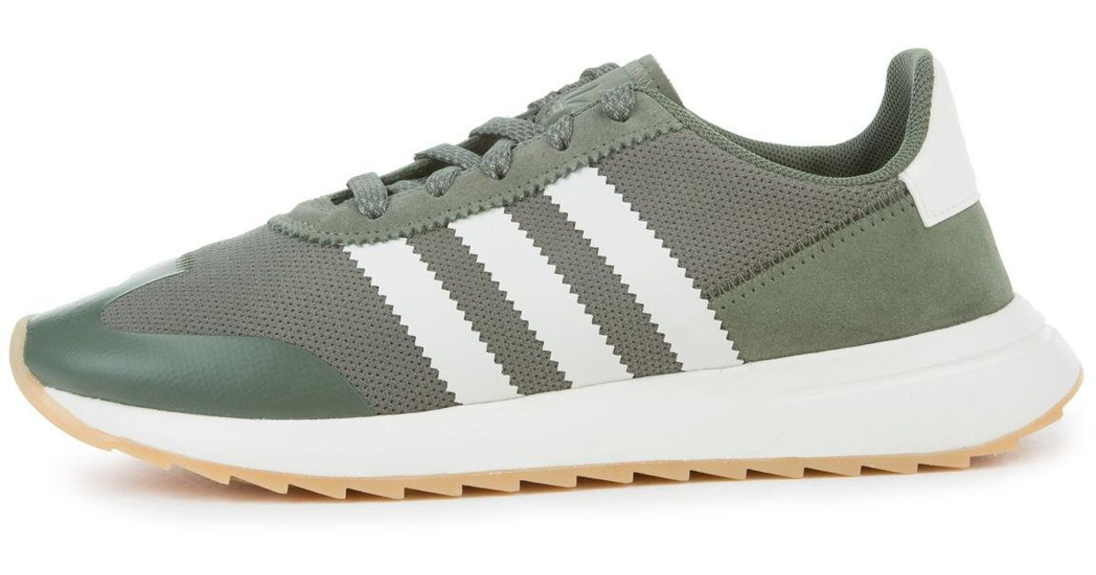 2f66984da95 Lyst - adidas The Women s Flb In St.major  Off White And Crystal White in  Green