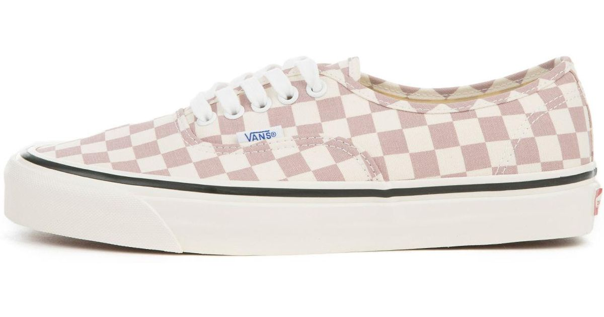 0ee6517980 Lyst - Vans The Men s Ua Authentic 44 Dx In (anaheim Factory) Og Mauve checkerboard  in Purple