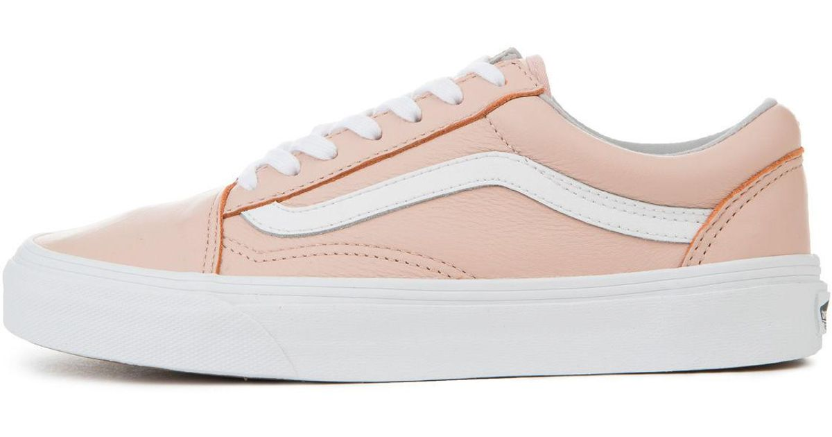 52682a42ee Lyst - Vans The Women s Old Skool Leather In Oxford And Sand