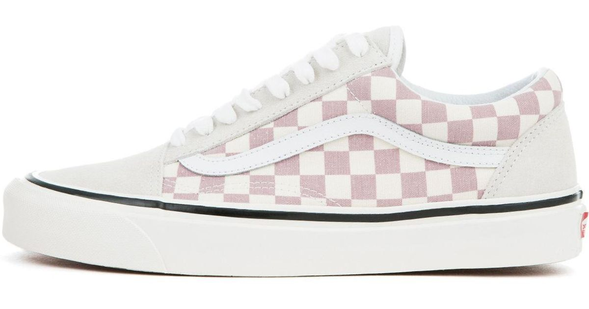 4ef0ca2af9e4 Lyst - Vans The Men s Ua Old Skool 36 Dx In (anaheim Factory) Og Mauve  checkerboard in Purple for Men