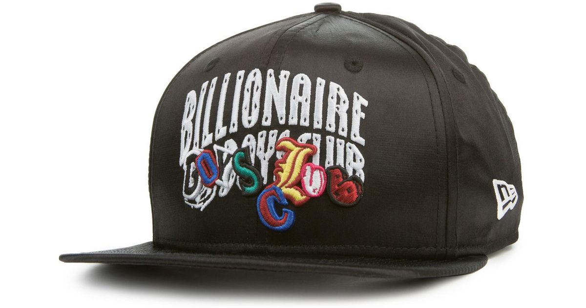 ... ireland lyst billionaire boys club ice cream the arch snapback hat in  black for men bf7a6 446411b62e77