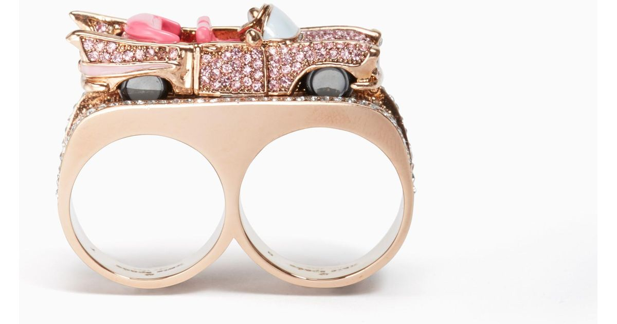 Kate Spade Yours Truly Car Ring Fashion Jewelry