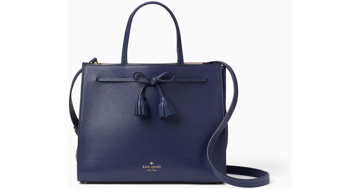 f0f8ef95abed Kate Spade Hayes Street Small Isobel in Blue - Lyst