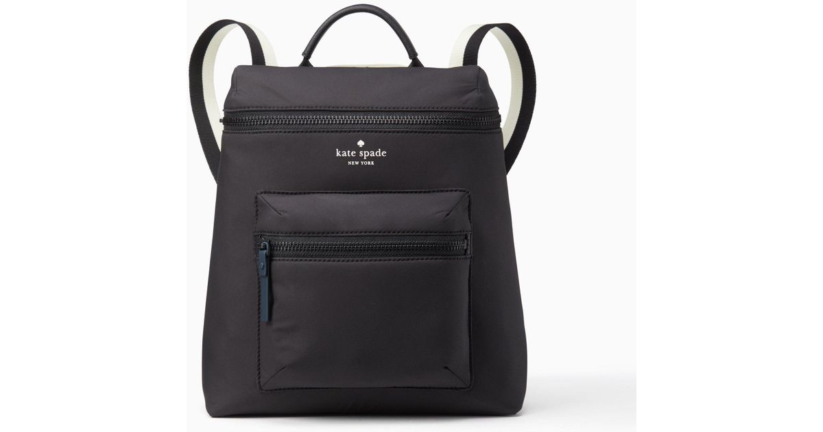 10aaf486a660 Kate Spade That s The Spirit Convertible Backpack in Black - Lyst