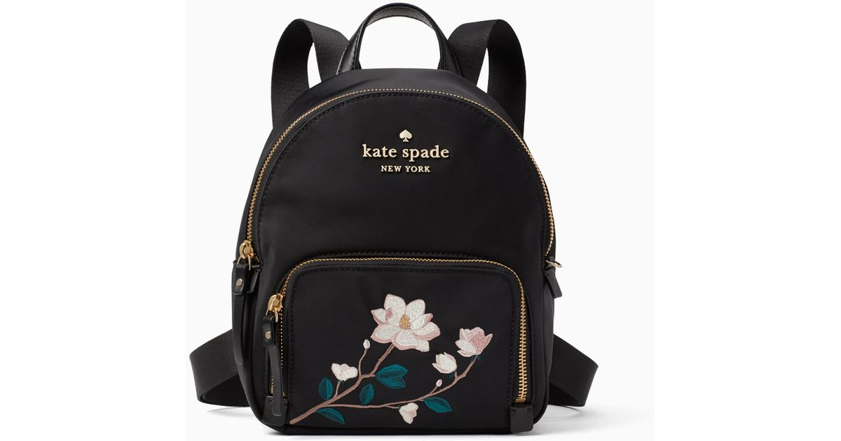 2c99bcb6fe Kate Spade - Black Watson Lane Embroidered Small Hartley - Lyst