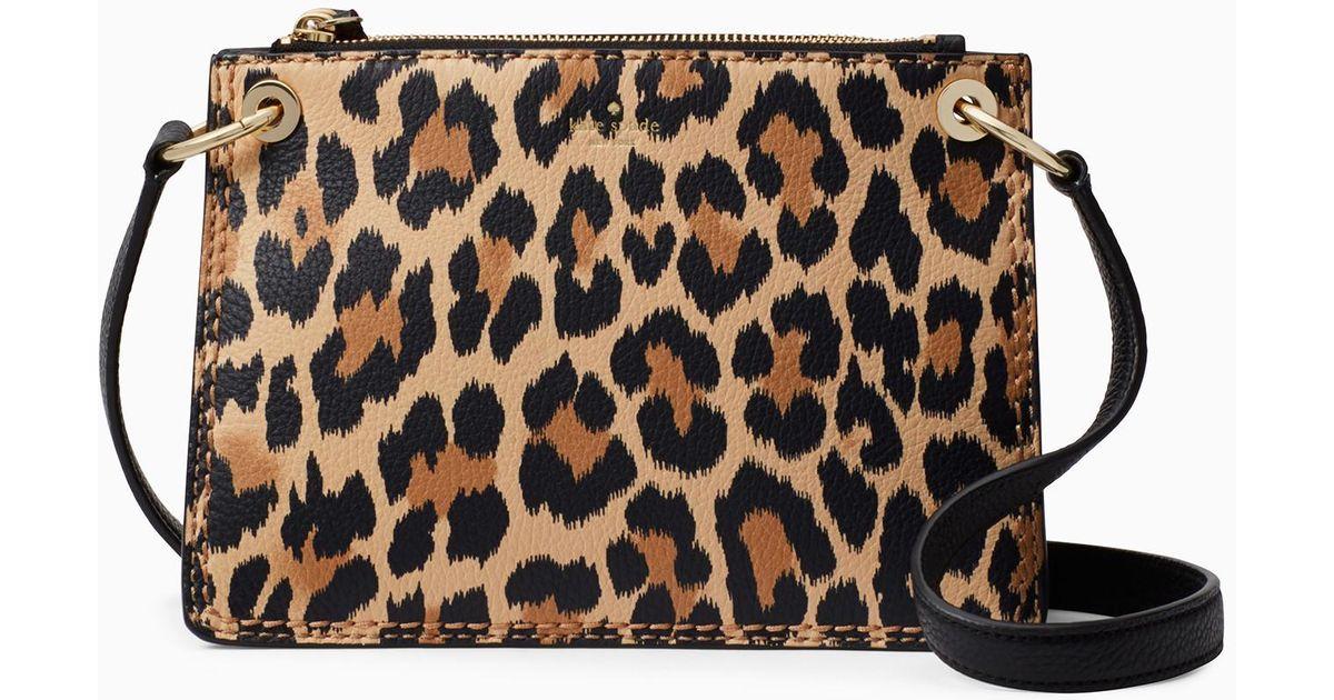 7397d3a09 Kate Spade Dunne Lane Leopard Caro - Lyst