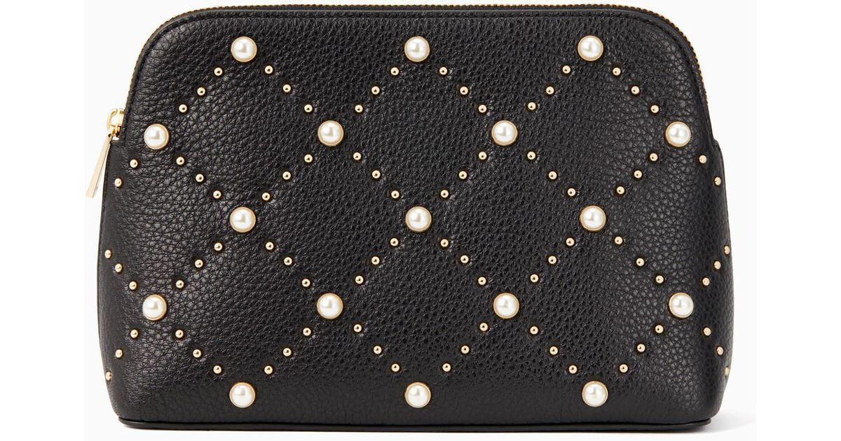 e3c0a7c5662c Kate Spade Hayes Street Pearl Small Briley in Black - Lyst
