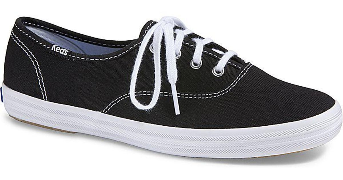 b67120cbc3a Lyst - Keds Champion Core Trainers in Black - Save 60%