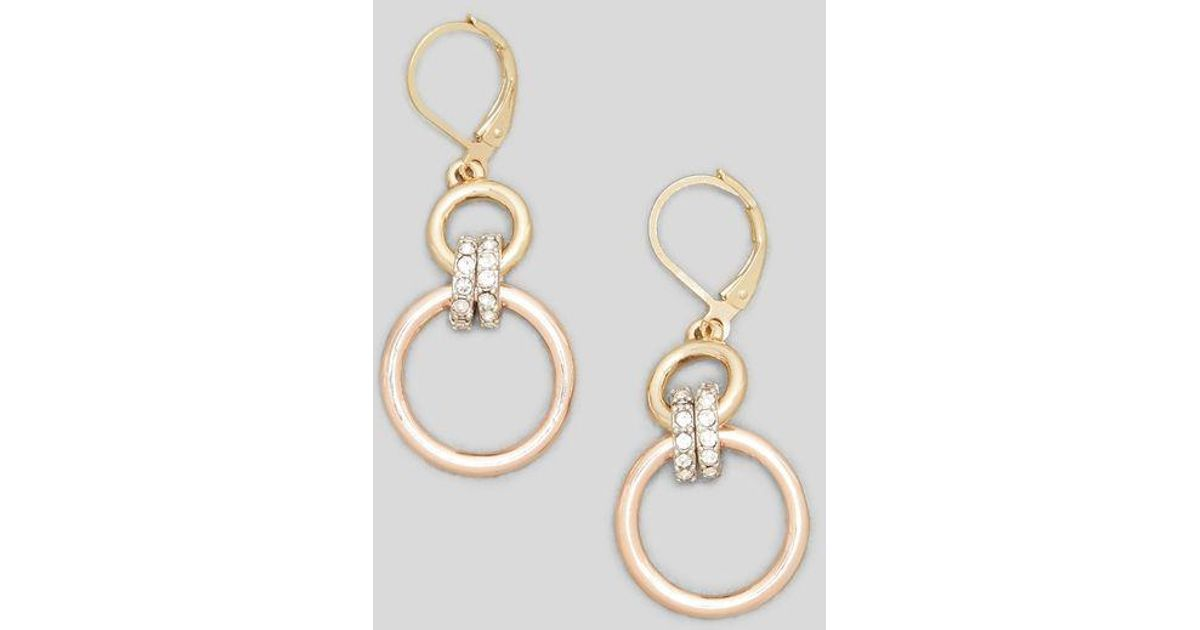 Multi-Tone Jeweled Earring Kenneth Cole MZofQXVNl