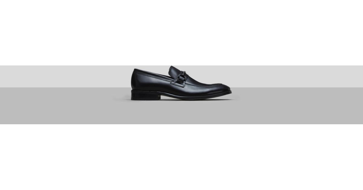 9e27d5a43f4 Lyst - Kenneth Cole Gather Urself Leather Loafer in Black for Men